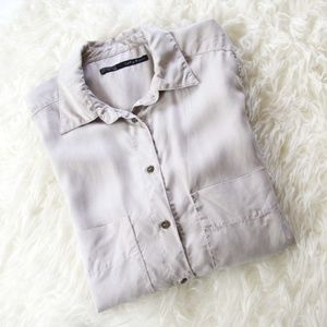 Zara Button Down Shirt